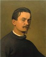 Félix Edouard Vallotton Self Portrait 1897