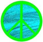 GREEN BLUE PEACE