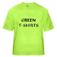 YeshuaWear.com Green T-Shirts
