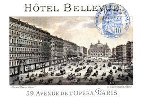 1877 Hotel Bellevue, Paris