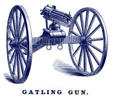 1862 Gatling Gun