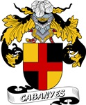 Cabanyes Coat of Arms, Family Crest