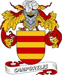 Camporelis Coat of Arms, Family Crest