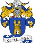 Castellvell Coat of Arms, Family Crest
