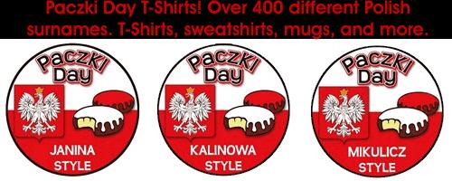Paczki Day T-Shirts