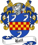 Hall Family Crest, Coat of Arms