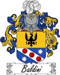 Baldini Family Crest, Coat of Arms