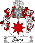 Bianco Family Crest, Coat of Arms