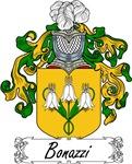 Bonazzi Family Crest, Coat of Arms
