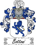 Bottoni Family Crest, Coat of Arms