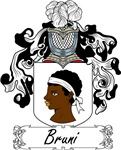 Bruni Family Crest, Coat of Arms