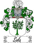 Sola Family Crest, Coat of Arms