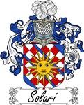 Solari Family Crest, Coat of Arms