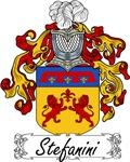 Stefanini Family Crest, Coat of Arms