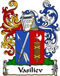 Vasiliev Family Crest, Coat of Arms