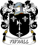 Fwyall Coat of Arms, Family Crest