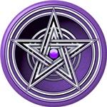 Purple Pentacle w/inlay