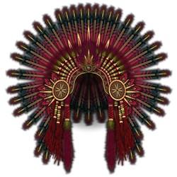 Native War Bonnet 06