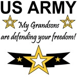 US Army My Grandsons are defending your freedom!