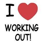 I heart working out