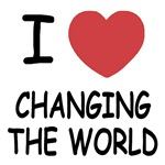 I heart changing the world