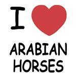 I heart arabian horses