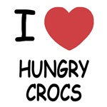 I heart hungry crocs