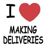 I heart making deliveries