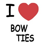 I heart bow ties