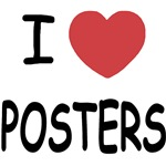 I heart posters