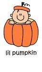 lil pumpkin apparel (caucasian) & more