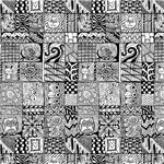 Zentangle Doodle Squares