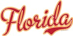 Florida Script Crimson VINTAGE