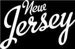 New Jersey Script White