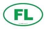 Florida FL Euro Oval