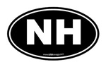 New Hampshire NH Euro Oval