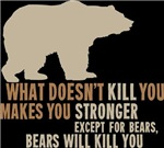 What Doesn't Kill You Makes You Stronger. Except f