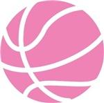 Basketball Carolina Pink