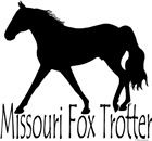 Missouri Fox Trotter T-shirts, Gifts: Black