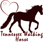 Tennessee Walking Horse Hearts