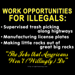 Jobs for Illegals