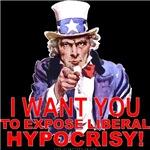 Expose Liberal Hypocrisy