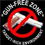 Gun-free zone.. target-rich environment.