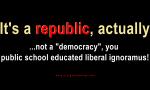 It's a Republic...