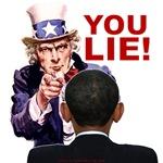 YOU LIE, Obama!