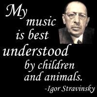 Stravinsky on Understanding