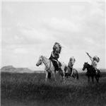 Lakota Horsemen Historical Photo