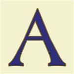 Spanish Blue Letter Tiles