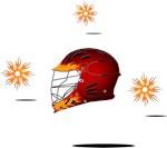 Lacrosse Flame Helmet