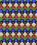 Casino Chips Pattern